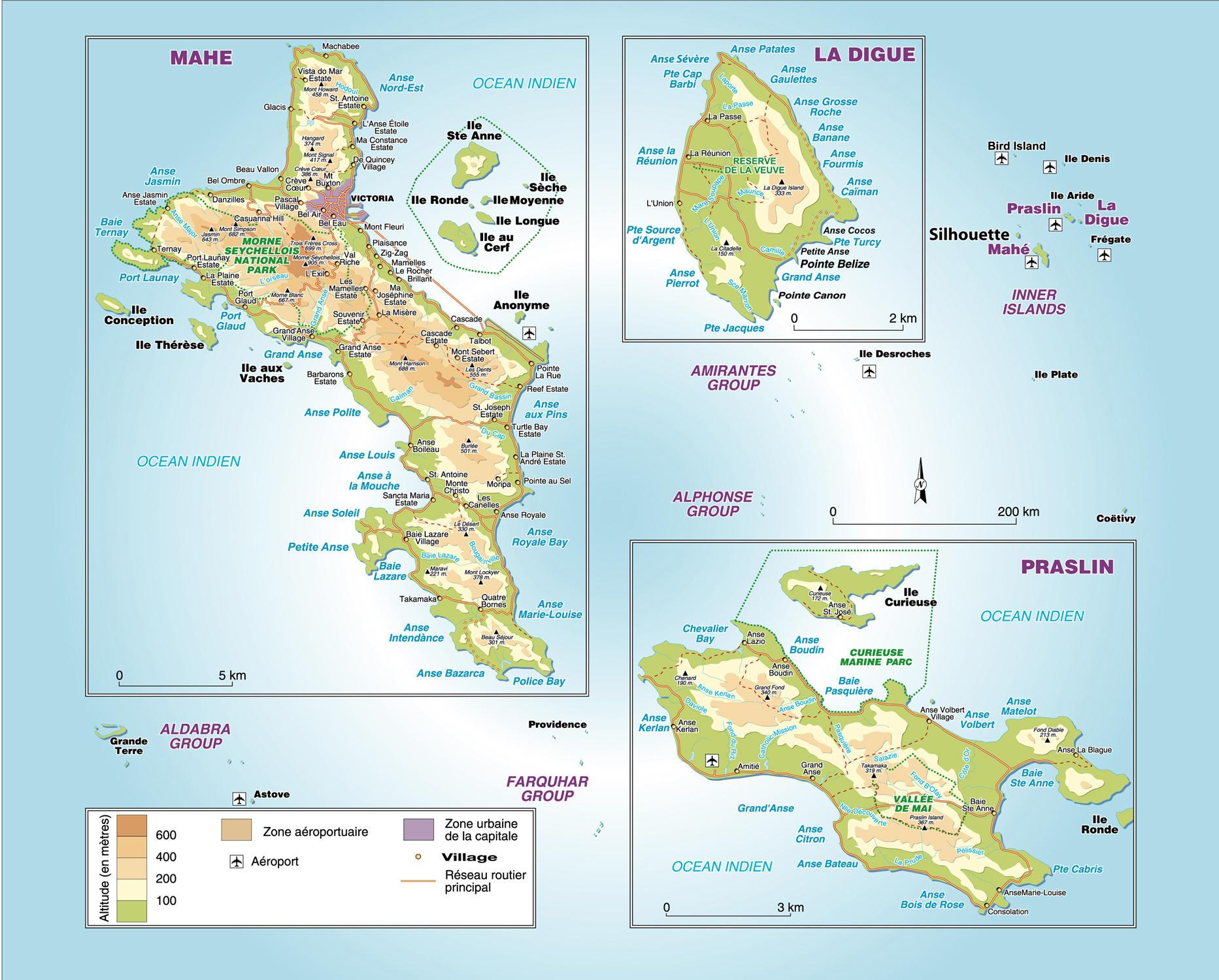 seychelles carte